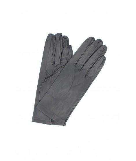 Nappa leather gloves 2bt unlined Navy Sermoneta Gloves Leather