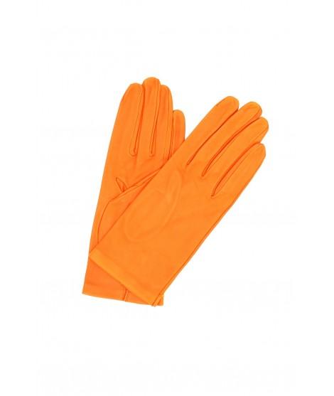 Guanto in Nappa 2bt sfoderato Arancio Sermoneta Gloves Guanti