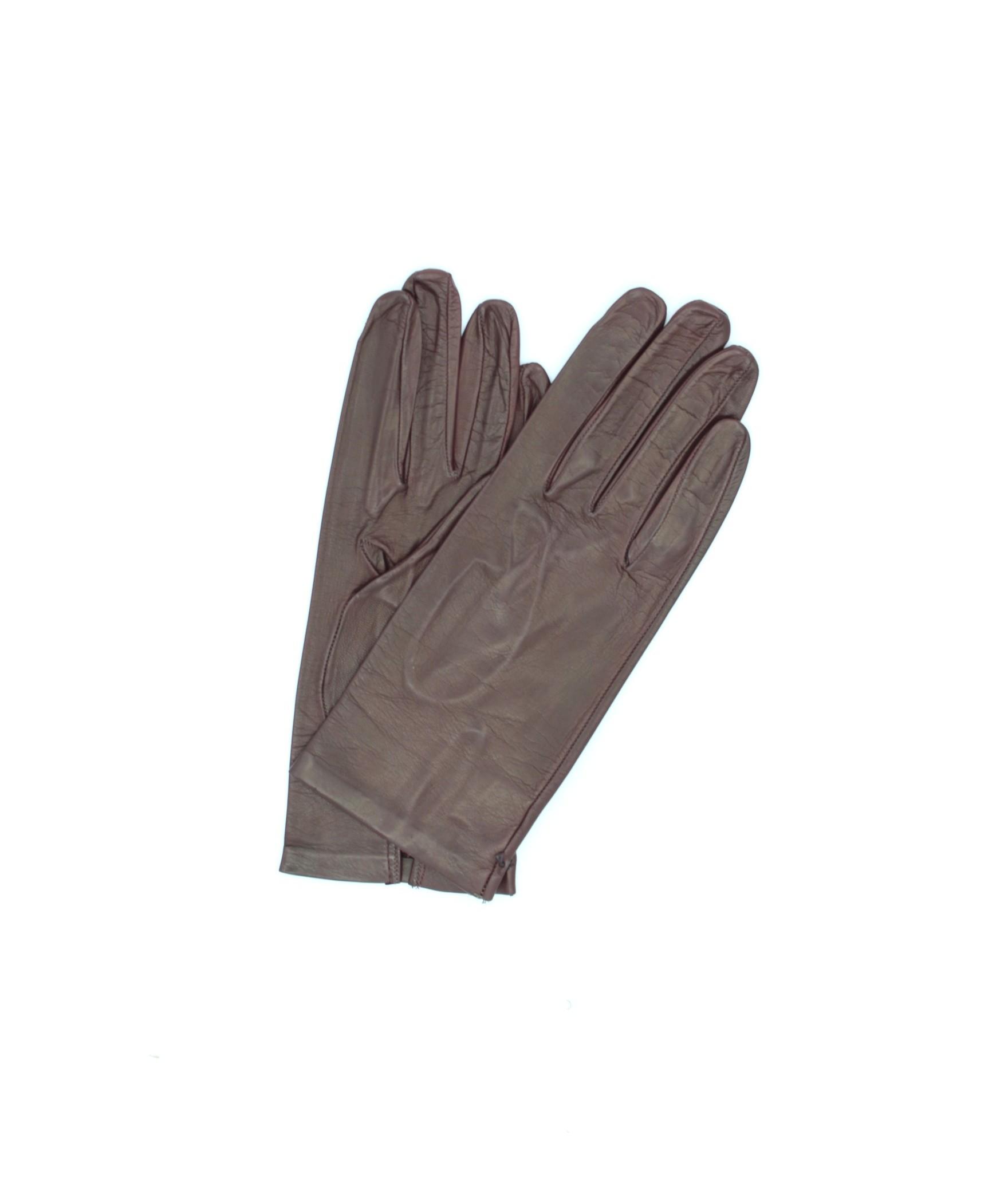 Guanto in nappa 2bt sfoderato Bordeaux Sermoneta Gloves Guanti