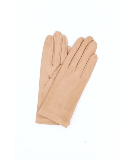 Nappa leather gloves 2bt unlined Nude Sermoneta Gloves Leather