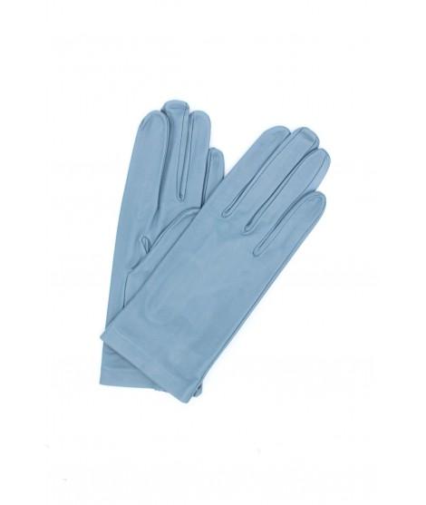 Nappa leather gloves 2bt unlined Denim Sermoneta Gloves Leather