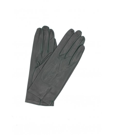 Guanto in Nappa 2bt sfoderato Verde scuro Sermoneta Gloves