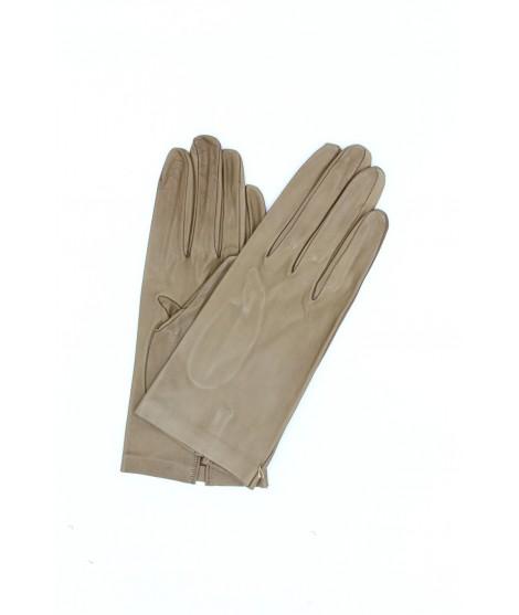 Guanto in Nappa 2bt sfoderato Fango Sermoneta Gloves Guanti in