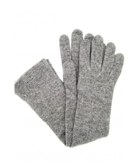 Guanto in 100% cashmere 10bt Grigio chiaro Sermoneta Gloves