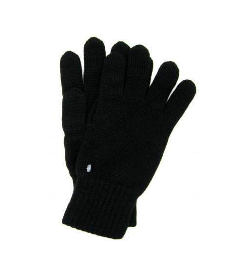 100% Cashmere gloves 2bt Black Sermoneta Gloves Leather