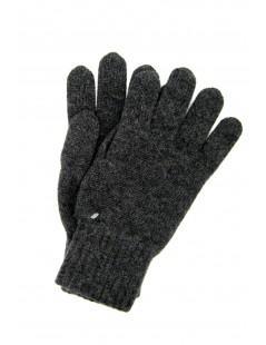 100% Cashmere gloves 2bt Dark Grey Sermoneta Gloves Leather