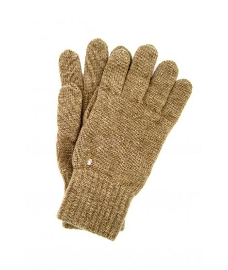 100% Cashmere gloves 2bt Taupe Sermoneta Gloves Leather