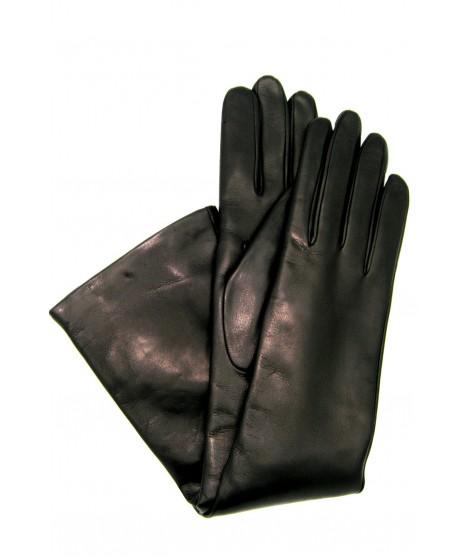 Nappa leather gloves cashmere lined 10bt Black Sermoneta Gloves