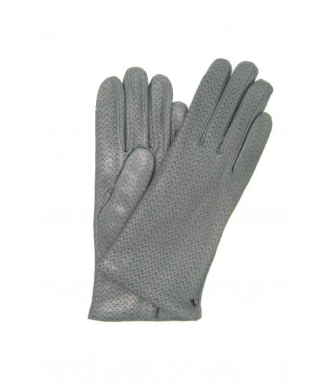 Guanto Nappa 2bt foderato cashmere Grigio MD Sermoneta Gloves