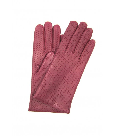 Guanto Nappa 2bt foderato cashmere Magenta Sermoneta Gloves