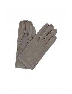 Nappa leather gloves Silk lined Mud Sermoneta Gloves Leather