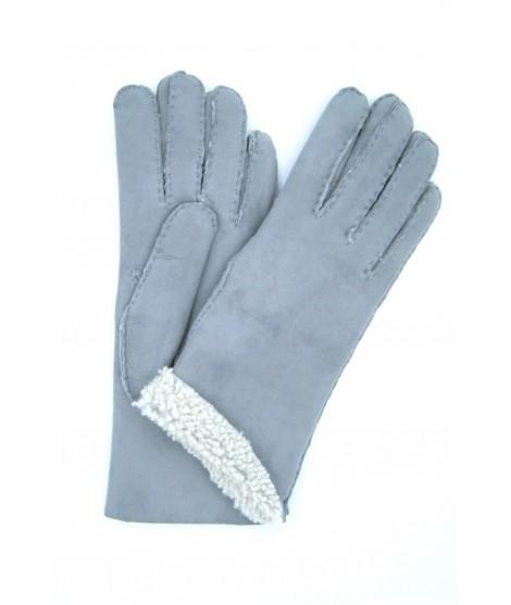 Guanto Montone cucito a mano Grigio Perla Sermoneta Gloves