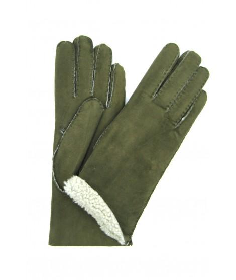 Guanto Montone cucito a mano Loden Sermoneta Gloves Guanti in