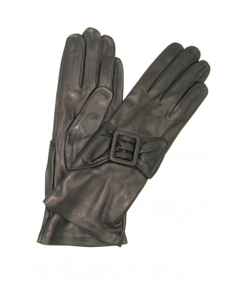 Guanto Nappa 4BT fodera seta con Fibbia T.Moro Sermoneta Gloves