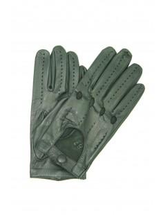 Guanto nappa guida dita intere Verde oliva Sermoneta Gloves