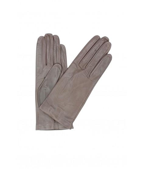 Nappa leather gloves Silk lined Mink Sermoneta Gloves Leather
