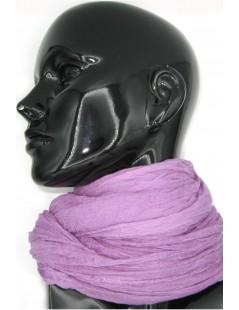Ladies Stole in Modal and Silk Wisteria color Sermoneta Gloves