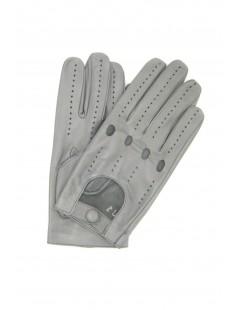 Guanto nappa guida dita intere Grigio/perla Sermoneta Gloves